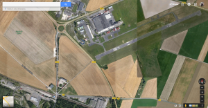 Vue Google Map de Reims-Prunay